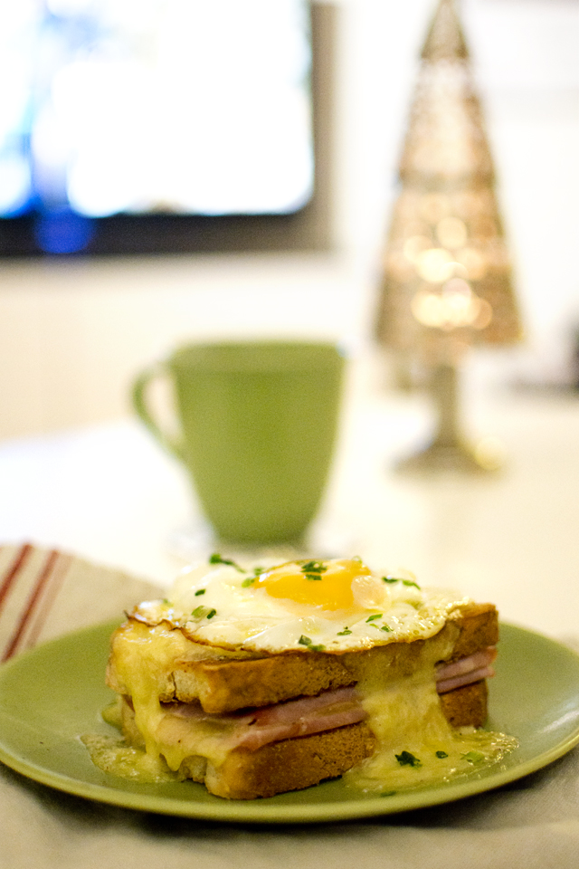Recept på Croque Madame