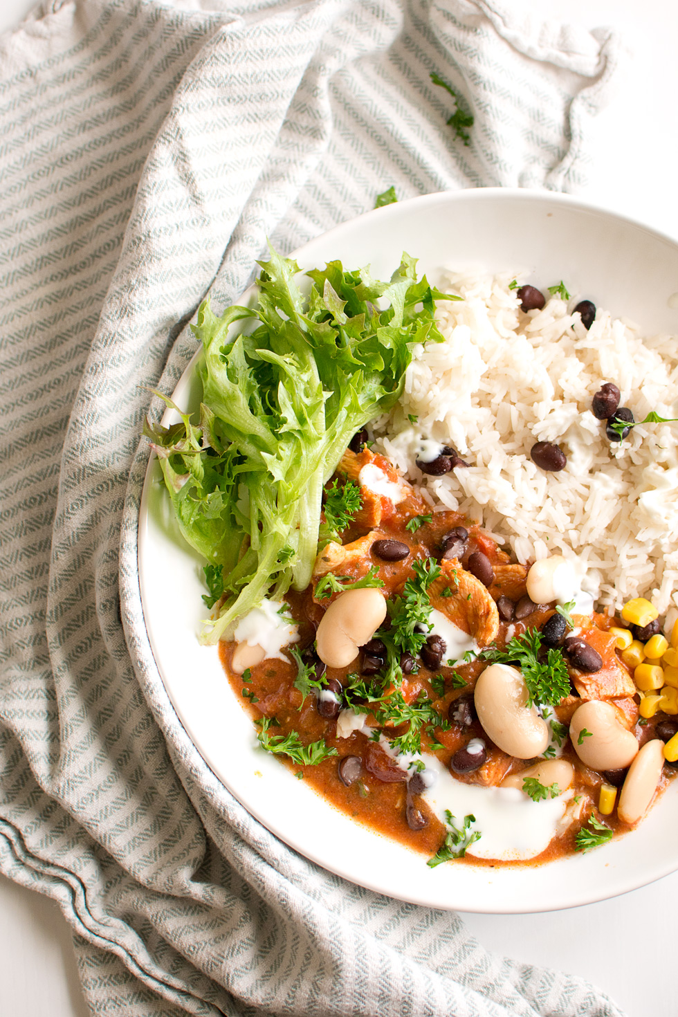 Chili con carne med kyckling
